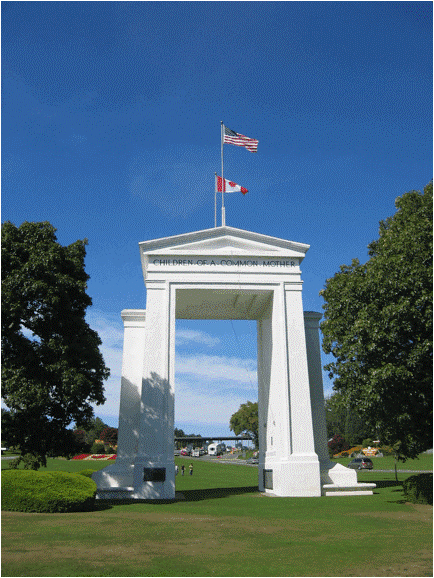 Arnold C. Buchanan-Hermit, 'The Peace Arch', Blaine, Washington, 1921. 67 feet high