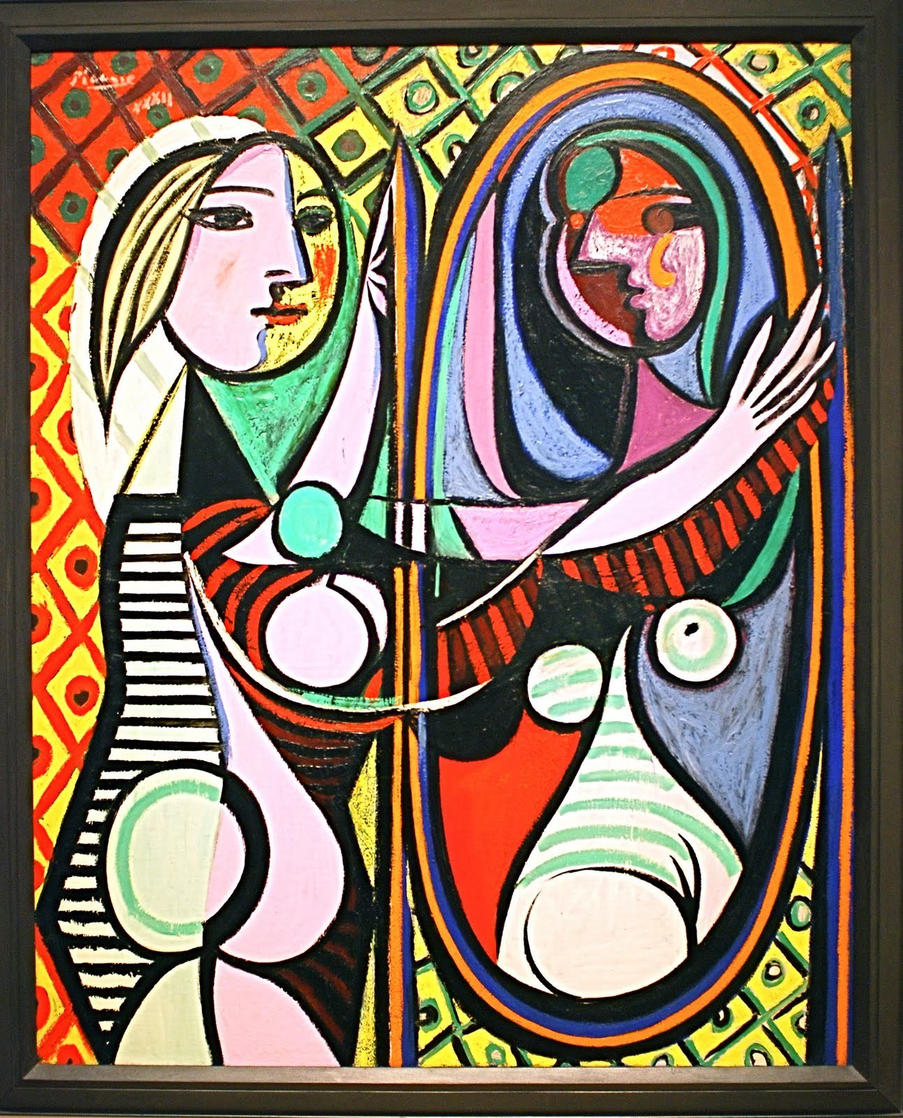 "Picasso's ""Girl Before a Mirror"""