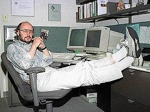 Photo of Bjarne Stroustrup, creator of the programming language C++