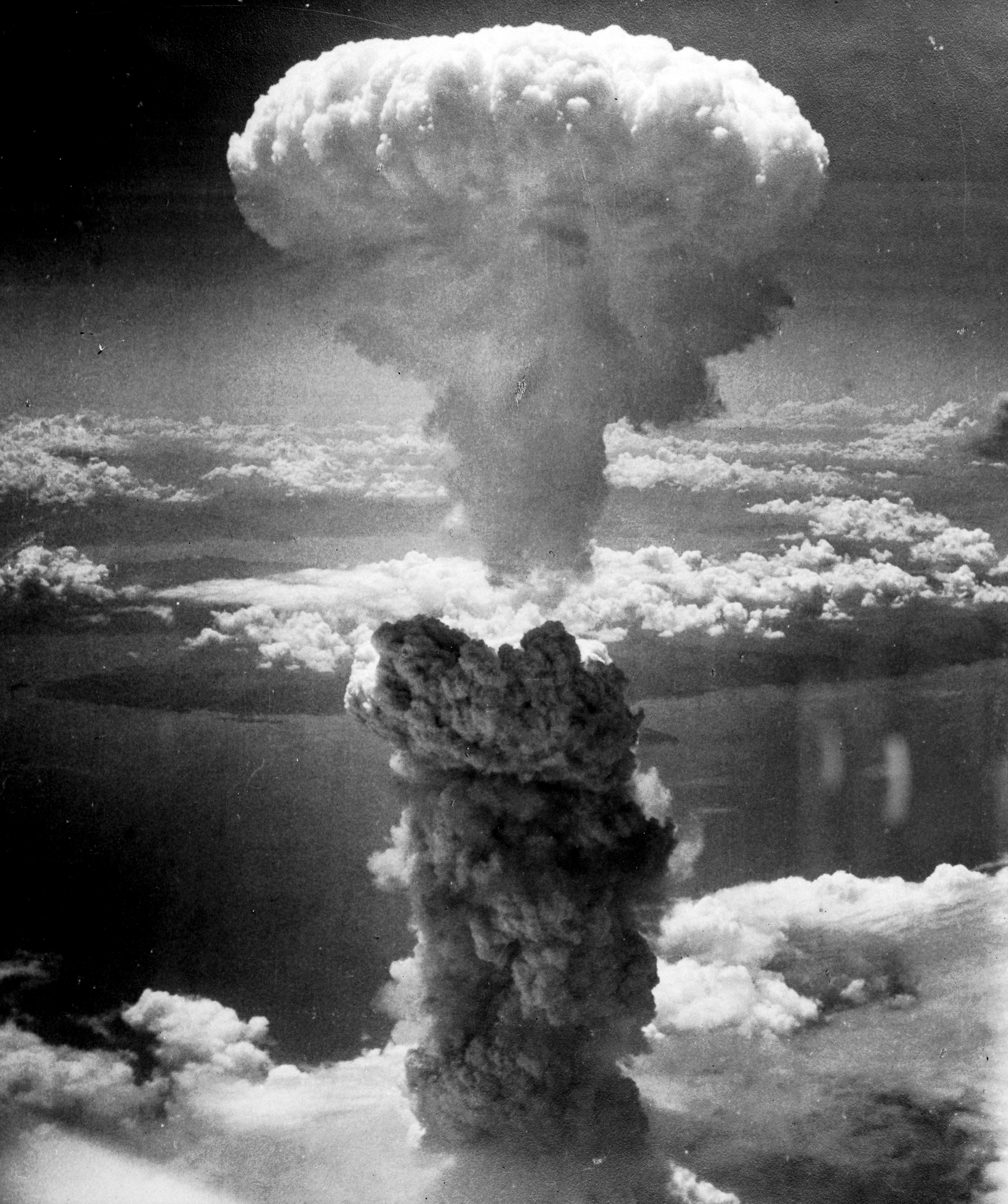 The atomic cloud over Nagasaki