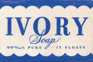 A logo for Ivory Soap