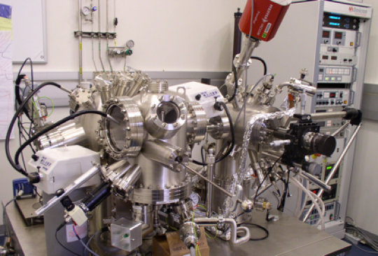Photo of an AFM at the Argonne National Laboratory