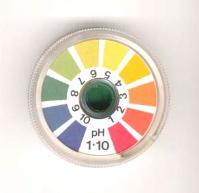 Image of a universal pH indicator