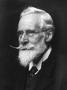 Photo of Sir William Crookes 1906