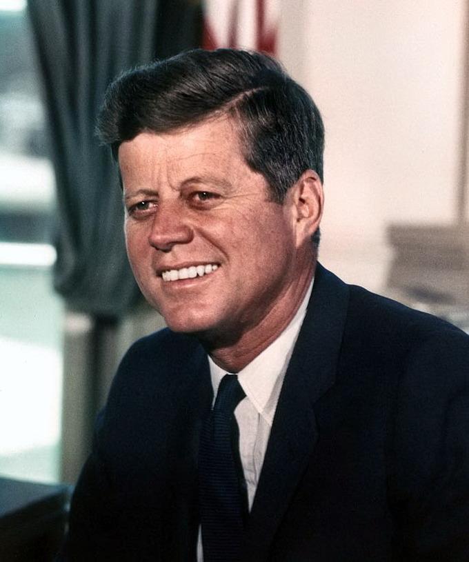 Photo of President John F. Kennedy
