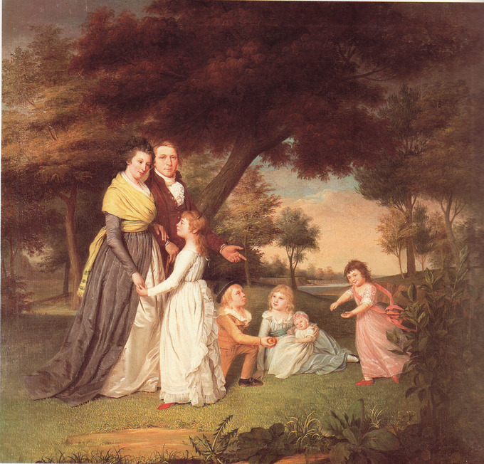 Painting of Republican Mothers