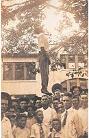 Photo of lynching in Texas