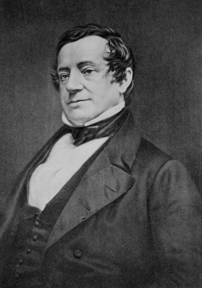 Portrait of Irving Washington