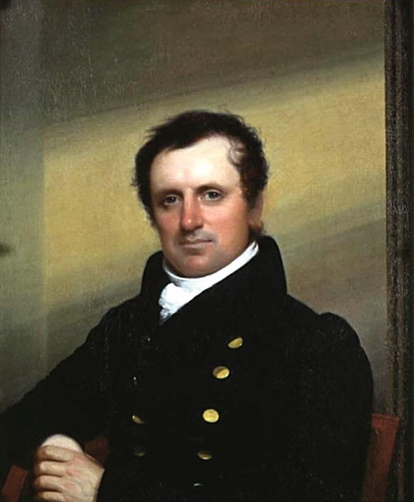 Portrait of James Fennimore Cooper