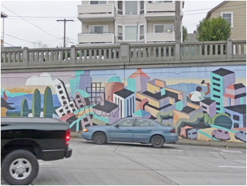 Public Mural, Seattle