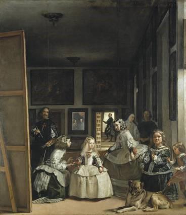Diego Velazquez, Las Meninas, 1656, oil on canvas, 125.2