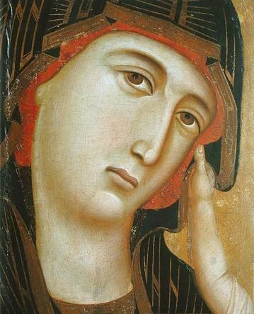 The Crevole Madonna Detail