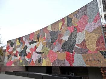 Paul Horiuchi, 'Seattle Mural', 1962. Glass mosaic. The Seattle Center