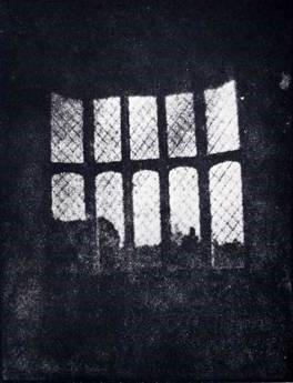 William Henry Fox Talbot, 'Latticed Window at Lacock Abbey', 1835. Photographic print. National Museum of Photography, Film and Television collection, England