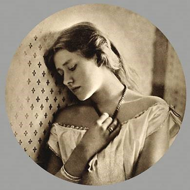 Julia Margaret Cameron, 'Portrait of Ellen Terry', 1864. Carbon print. The Royal Photographic Society, United Kingdom