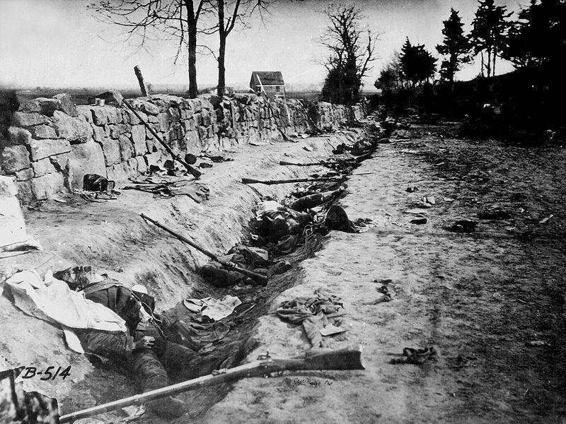 Conf dead Chancellorsville