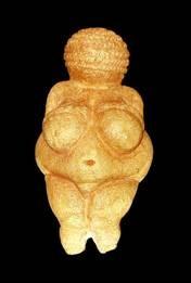 'Venus of Willendorf', c.25,000 BCE. Natural History Museum, Vienna