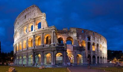 'The Colosseum', Rome, Italy. 1st Century CE. Photo: David Iliff