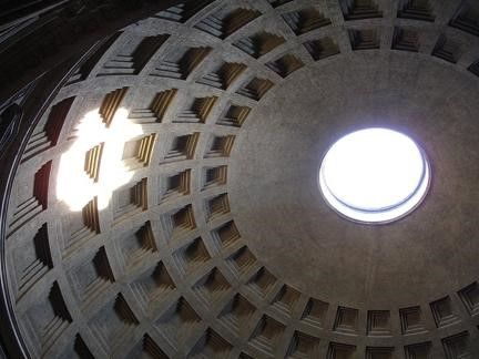 'Dome of the Pantheon with oculus', Rome. 126 CE