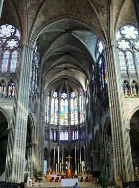 'Church of St. Denis', France. 7th -12th centuries CE