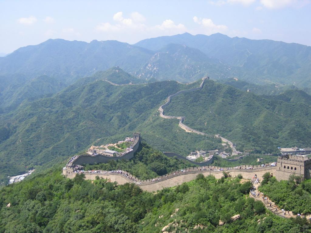 Samxli, 'The Great Wall of China at Badaling', China, begun 5th century BCE, Stone