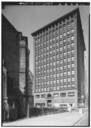 Louis Sullivan, 'The Prudential Building', (Also known as the Guaranty Building), 1894, Buffalo, NY. Photo: Jack E. Boucher. Collection Historic American Buildings Survey, National Archives, Library of Congress