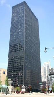 J. Crocker, 'IBM Plaza', Ludwig Mies van der Rohe, 1971, Chicago, Illinois