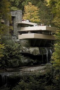 Sxenko, 'Falling Water', Frank Lloyd Wright, Bear Run, Pennsylvania. 1937