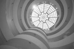Martyn Jones, 'Guggenheim Museum', interior, New York City