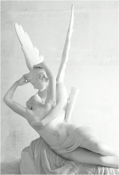 Eric Pouhier, 'Psyche Revived by Cupid's Kiss', Antonio Canova, 1787-1793, marble. Louvre, Paris, France