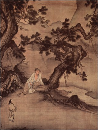 Ma Lin, 'Wall Scroll', 1246. Ink on silk. National Palace Museum, Taiwan