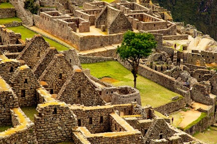 Colby Chester, 'Machu Picchu Archeological Site', detail