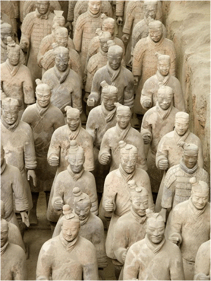 Shawn Kinkade, 'Emperor Qin's Terra Cotta Army', China, 210 BCE